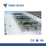Impresión Silk-Screen/logotipo de vidrio con diseños de mobiliario/puerta de 3-12 mm