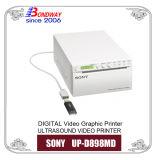 Video ultrasonido impresora A6 Vidoe Impresora para la máquina de ultrasonidos, Impresora gráfica de video Sony UP0d898MD, escáner de ultrasonido, el papel térmico