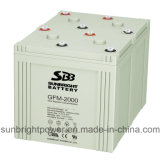 High Power 220V Pack를 위한 태양 Power System Battery 2V2000ah