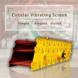 pantalla de vibración circulares Yk de gran eficiencia.