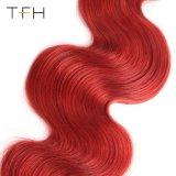 Corpo Pre-Coloed Omber Wave Hair #1b/Bug Cabelos Virgens tecer dois pacotes de cabelo cor (TFH18)