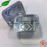 Контейнеры алюминиевой фольги алюминиевой фольги подноса еды