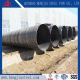 Tubo soldado espiral del tubo de acero SSAW de carbón de ASTM A53