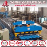 Prepintado galvanizado cubriendo la hoja de acero acanalada