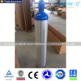 ISO/DOT/Tped/Ce 기준을%s 가진 고압 40L 알루미늄 가스통