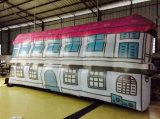 Het Kleurrijke LEIDENE van de uitvoer Opblaasbare Huis van de Decoratie voor Tentoonstelling, Partij