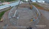o famoso o maior da estrutura da barraca da abóbada Geodesic de 55m Diametra