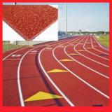 Резиновые/синтетических беговую дорожку для Iaaf взлетно-посадочной полосы