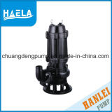 Wq pompe submersible électrique de la série des eaux usées
