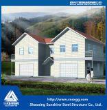 Niedrige Kosten-galvanisiertes helles Stahllandhaus mit Baumaterial