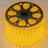 Drei Jahre des Garantie-Zeit-Weihnachtslicht-IP65 LED Seil-Licht-