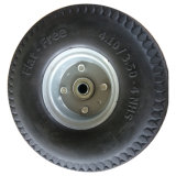 Хорошей цене 3.00-4 твердых PU пены колеса тележки для инструмента тележки