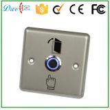 青いLEDライトが付いている12Vステンレス鋼の押しボタンスイッチ