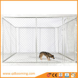 Im Freien galvanisierte Kettenlink-Hundeläufer-Hundehütten