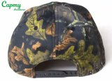 Sombrero grande de la talla del casquillo del Snapback del modelo de la impresión