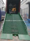 Conteneur de bateau de chariot hydraulique mobile Rampe de chargement