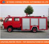 4X2 Dongfeng Wasser-Schaumgummi-Feuerbekämpfung-LKW
