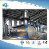 Systeem van de Raffinage van de Olie van de Pyrolyse van het Afval van de Installatie van het Recycling van de Band van het schroot het Plastic