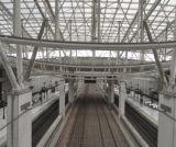 Modèle de station de bus/train de structure de bâti en acier du panneau Al-Magnésium-Manganèse