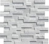 Pierre de la culture de marbre blanc de Carrare revêtement mural