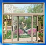 Populäres Insulated Aluminum Sliding Windows mit Glass