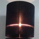 黒いオーガンザファブリック陰のホテルのプロジェクトのための永続的な床ランプ