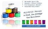 Filament en gros de l'imprimante 3D des consommables ABS/PLA 1.75mm d'impression