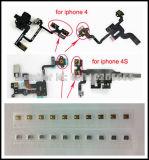 Het Stuk van de Lente van de Schakelaar van de Macht van de Knoop van de Slaap van de macht voor iPhone 4 4s AudioHefboom van de Hoofdtelefoon van de Macht Flex