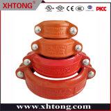 Raccordo tubo in ferro per duttile in fusione giunto scanalato per la sicurezza antincendio Sistema