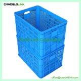 50kgs che impila il Tote di plastica della frutta di immagazzinaggio di vegetali del pomodoro del Virgin