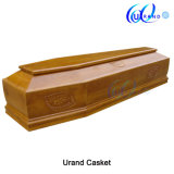 Italian Wooden High Gloss Clouded Wholesale Casket and Coffin