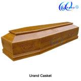 Caixão e caixão por atacado de China do lustro elevado de madeira italiano