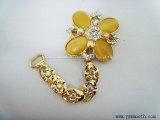 Venda por grosso de decoração Rhinestone Multicor Diamond acessórios para calçado feminino Fivela
