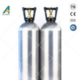 Cilindro di alluminio 20lb del CO2 della birra del barile con la valvola Cga320