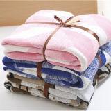 Técnicas feitas malha da HOME do cobertor da cor do algodão cobertor morno adultas para a venda por atacado do inverno