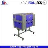 Starmacncの趣味の小型スタンプレーザーの彫版機械5030 6040