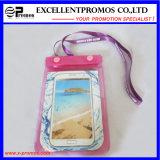 Impermeable pantalla táctil transparente bolsa de playa de PVC para iPad (EP-C9058)