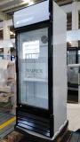 220L en posición vertical Enfriador de bebidas con ventilador de refrigeración asistida