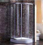 Frame de alumínio que desliza a cabine de vidro do chuveiro das portas do chuveiro