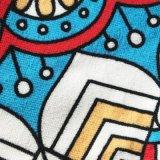 Handdoek van het Strand Microfiber van 100% de Grote Dikke Ronde