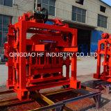 Machines de moulage de brique utilisées par usine creuse concrète du bloc Qt4-40 en Afrique du Sud