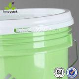 Зеленое воздухонепроницаемое ведро краски 18L с печатание шелковой ширмы