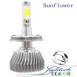 60W H4 H7 H1 H11 9005 9006와 자동 LED 헤드라이트를 위한 공장의 LED 헤드라이트에서 신제품
