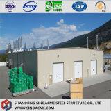 Peint en carton ondulé africains Structure en acier de construction modulaire Warehouse
