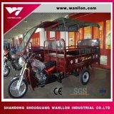 Triciclo do motor da carga da cabine de excitador de três rodas para a carga