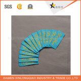 Drucker-Firmenzeichen-Tuch kleidet Kleidung gesponnenen kundenspezifischen Kleid-Aufkleber