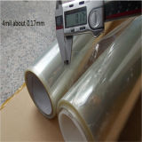 Film UV anti-vol de garantie de guichet de protection de 4 mils