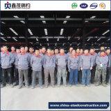 Almacén constructivo de la estructura de acero del metal prefabricado movible con la certificación de la ISO