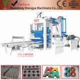 Vollautomatische hydraulische Block-maschinelle Herstellung-Zeile der Shengya Marken-Qt10-15 am besten Kundendienst in Afrika
