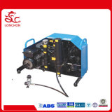 電動機による高圧携帯用スキューバダイビングの空気呼吸の圧縮機